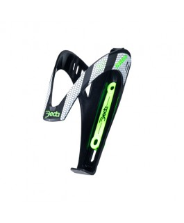 Portabotella Deda Gabbia, negro c/verde fluo. PSVP $9.980