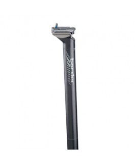 Tubo de sillín Deda MUD Border, Black, 27,2 mm. PSVP $41.900